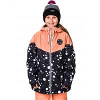 Horsefeathers FAY KIDS dots dětská zimní bunda - XL