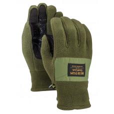 Burton EMBER FLEECE forest night pánské prstové rukavice - XL