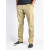 RVCA WEEKEND STRETCH KHAKI plátěné sportovní kalhoty pánské - 33