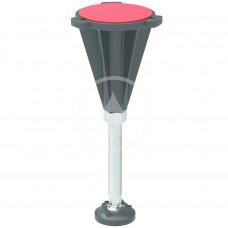 Ideal Standard Nohy ke sprchové vaničce, chrom/černá K936467