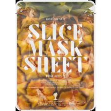 Kocostar Slice Mask Sheet Pineapple pleťová maska 20 ml