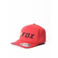 Fox Apex red/black baseball čepice - S/M
