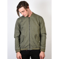 RVCA ALL CITY BOMBER BURNT OLIVE jarní bunda pánská - M
