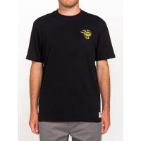 Element ANTIDOTE STATE FLINT BLACK pánské tričko s krátkým rukávem - XL