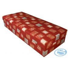 Čalouněná postel Rio 80x200 červená - BLANAŘ