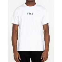RVCA BJJ SNAKE white pánské tričko s krátkým rukávem - XL
