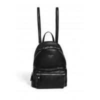GUESS batoh Leeza Pebbled Small Backpack černý vel.