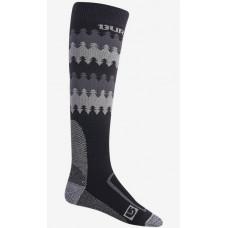 Burton BUFFER II TRUE BLACK kompresní ponožky - S