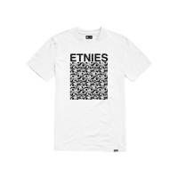 Etnies Retina white pánské tričko s krátkým rukávem - M