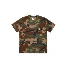 Element KERSH BIRDS CAMO pánské tričko s krátkým rukávem - M