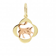 Zlato Zlatý přívěsek znamení zvěrokruhu 3220065 Znamení zvěrokruhu: Býk