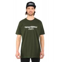 Horsefeathers GLOSS olive pánské tričko s krátkým rukávem - XXL