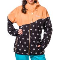 Horsefeathers CORALIE black dots zimní bunda dámská - S