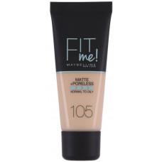 Maybelline Fit Me! Matte + Poreless 30ml - 105 Natural Ivory