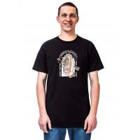 Horsefeathers SACRIFICE black pánské tričko s krátkým rukávem - L