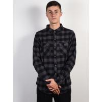 Billabong ALL DAY FLANNEL black pánská košile dlouhý rukáv - XL