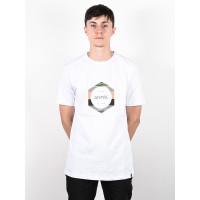 Animal LAMARY white pánské tričko s krátkým rukávem - L