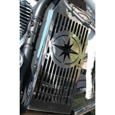Yamaha XV 1300 Midnight Star kryt chladiče - Motofanda 1154