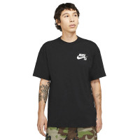 Nike SB LOGO black/white pánské tričko s krátkým rukávem - M