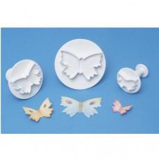 PME vykrajovačka, motýl, sada 30,45, 60 mm