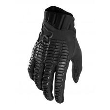 Fox Defend BLACK/BLACK cyklistické rukavice - L