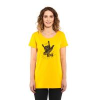 Horsefeathers COLEEN CITRUS dámské tričko s krátkým rukávem - L