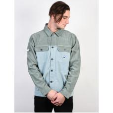 Billabong THE CORD Dusty Blue pánská košile dlouhý rukáv - L