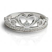 Zlato Zlatý dámský prsten Delphine 1261370 Velikost prstenu: 56