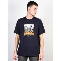 Element REFLECTIONS ECLIPSE NAVY pánské tričko s krátkým rukávem - M