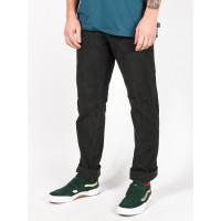 RVCA DAGGERS PIGMENT CORD PIRATE BLACK značkové pánské džíny - 36