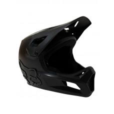 Fox Rampage BLACK/BLACK cyklistická přilba - S