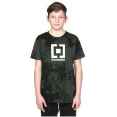 Horsefeathers BASE gray tie dye dětské tričko s krátkým rukávem - L