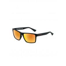 Horsefeathers MERLIN matt black/mirror orange lenonky