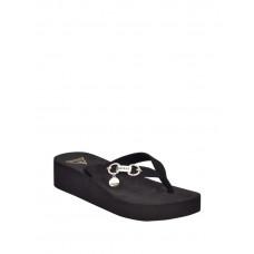 GUESS pantofle Maury Platform Logo Flip Flops černé vel. 38,5