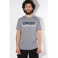 Oakley FP BASIC GRAPHIC ATHLETIC HEATHER pánské tričko s krátkým rukávem - XL