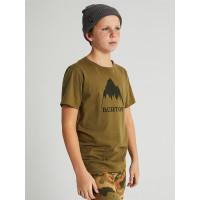 Burton CLASSIC MTN HIGH MARTINI OLIVE dětské tričko s krátkým rukávem - M