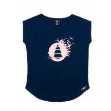 Picture Birdy dark blue dětské tričko s krátkým rukávem - 12