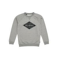 Billabong BOGUS grey heather dětská mikina - 10