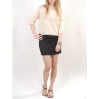 Element EMILY NATURAL společenské šaty krátké - M