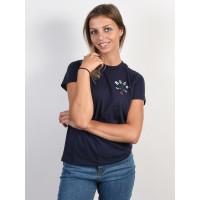 RVCA ROSIE INK dámské tričko s krátkým rukávem - S