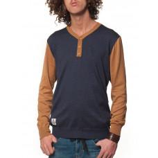 Horsefeathers CATCHER NAVY pánský značkový svetr - XL