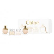 Chloé Les Parfums mini set Pro ženy parfémovaná voda Chloé 5ml + parfémovaná voda Nomade 2x5ml + toaletní voda Chloé 5ml
