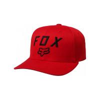 Fox Legacy Moth 110 DARK RED baseball čepice