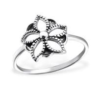 OLIVIE - stříbrný prsten 0205 Velikost prstenů: 8 (EU: 57 - 58)