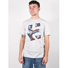 Etnies Kicks SILVER pánské tričko s krátkým rukávem - M