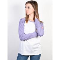 Vans FULL PATCH WHITE/DAYBREAK dámské tričko s dlouhým rukávem - M