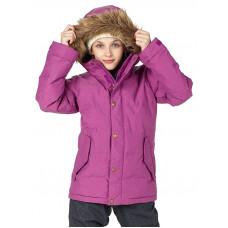 Burton GIRLS TRAVERSE GRAPESEED dětská zimní bunda - S
