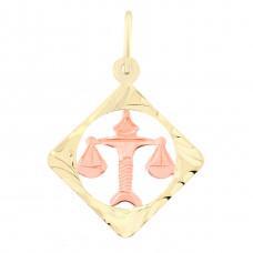 Zlato Zlatý přívěsek znamení zvěrokruhu 3220068 Znamení zvěrokruhu: Váhy