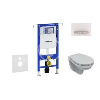 Geberit Sada pro závěsné WC + klozet a sedátko Ideal Standard Quarzo - sada s tlačítkem Sigma50, výplň bílá 111.355.00.5 NR8