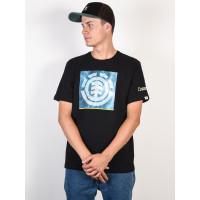 Element SOLVENT ICON FLINT BLACK pánské tričko s krátkým rukávem - S